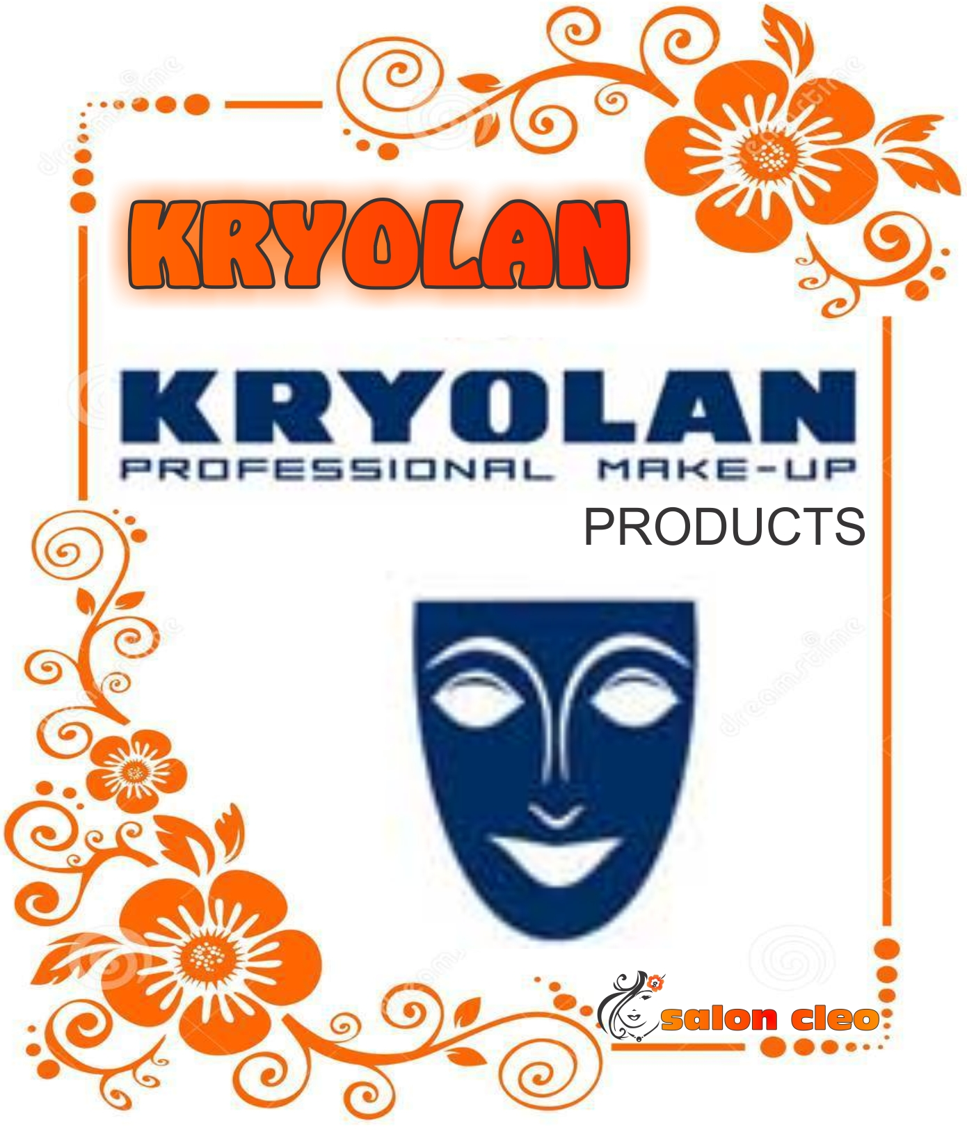 KRYOLAN MAKEUP KRYOLAN COSMETIC PRODUCTS KRYOLAN FOUNDATION EXLCLUSIVE AT SALON CLEO PHOENIX 0315002353