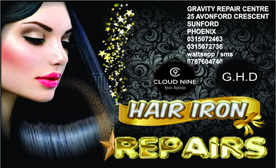 coriolliss hair iron repair centre hair iron repairs gravity hair iron repair centre 0315072736
