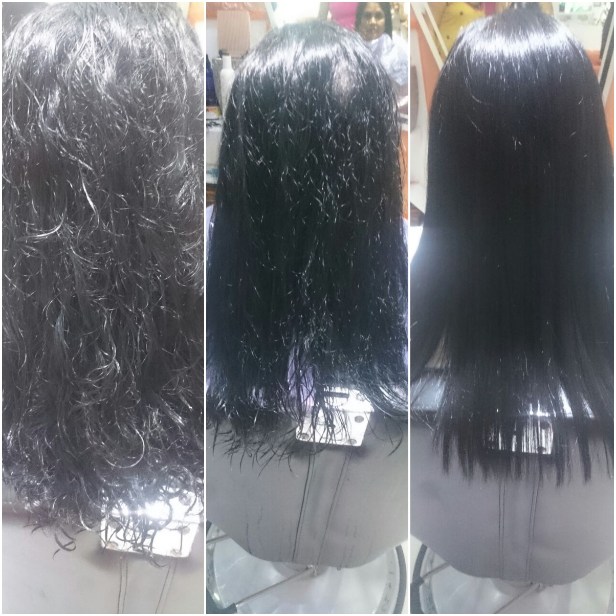 Permanent Hair Straightening Treatment Products
