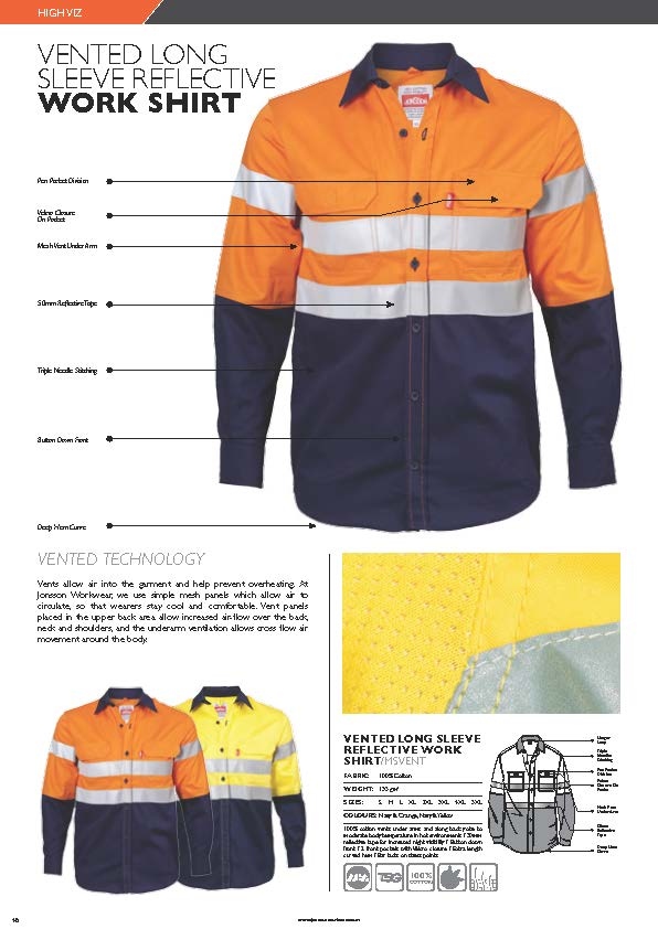 jonsson-vented-long-sleeve-reflective-work-shirt