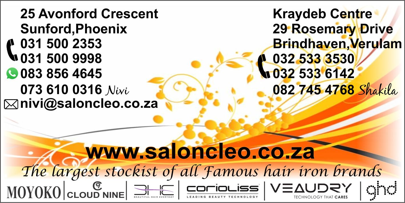 contact salon cleo for cheapest deal in hair irons straighteners contact salon cleo for prices of all ghd cloud 9 coriolliss BhE hair irons in durban 0315002353