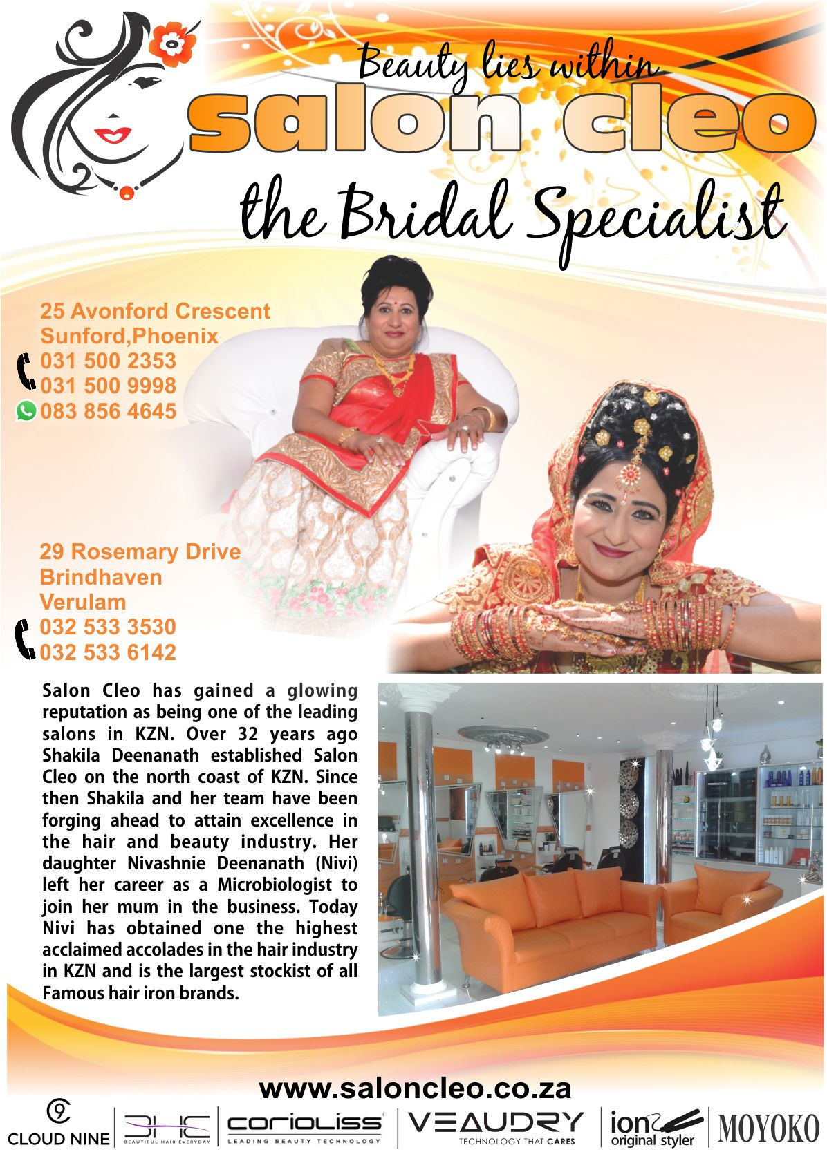 SALON CLEO THE BRIDAL SPECIALISTS 0315002353