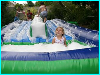 double-waterslide