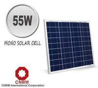 CNBM 55W Monocrystalline Solar Panel