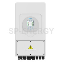 5kw Deye Inverter with DC-AC converter,offers clean and cheap power supply for your lights and appliances.