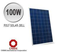 CNBM 100W Polycrystalline Solar Panel