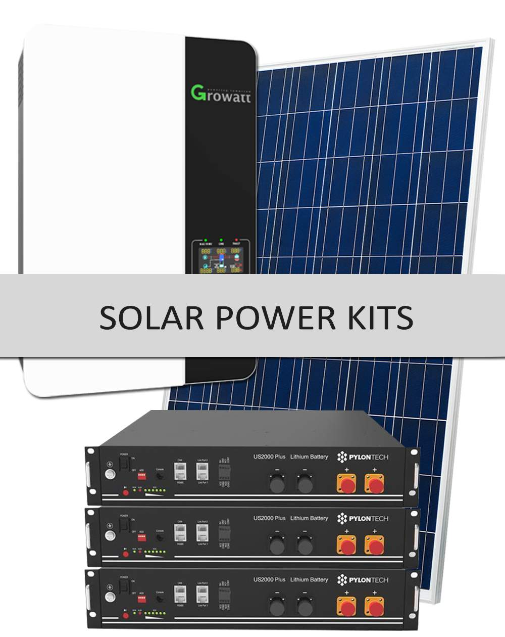Ready to go PV solar kits, Shop solar panels, complete solar system kits, components & parts for Off-Grid, Grid-Tie, and custom kits in South Africa