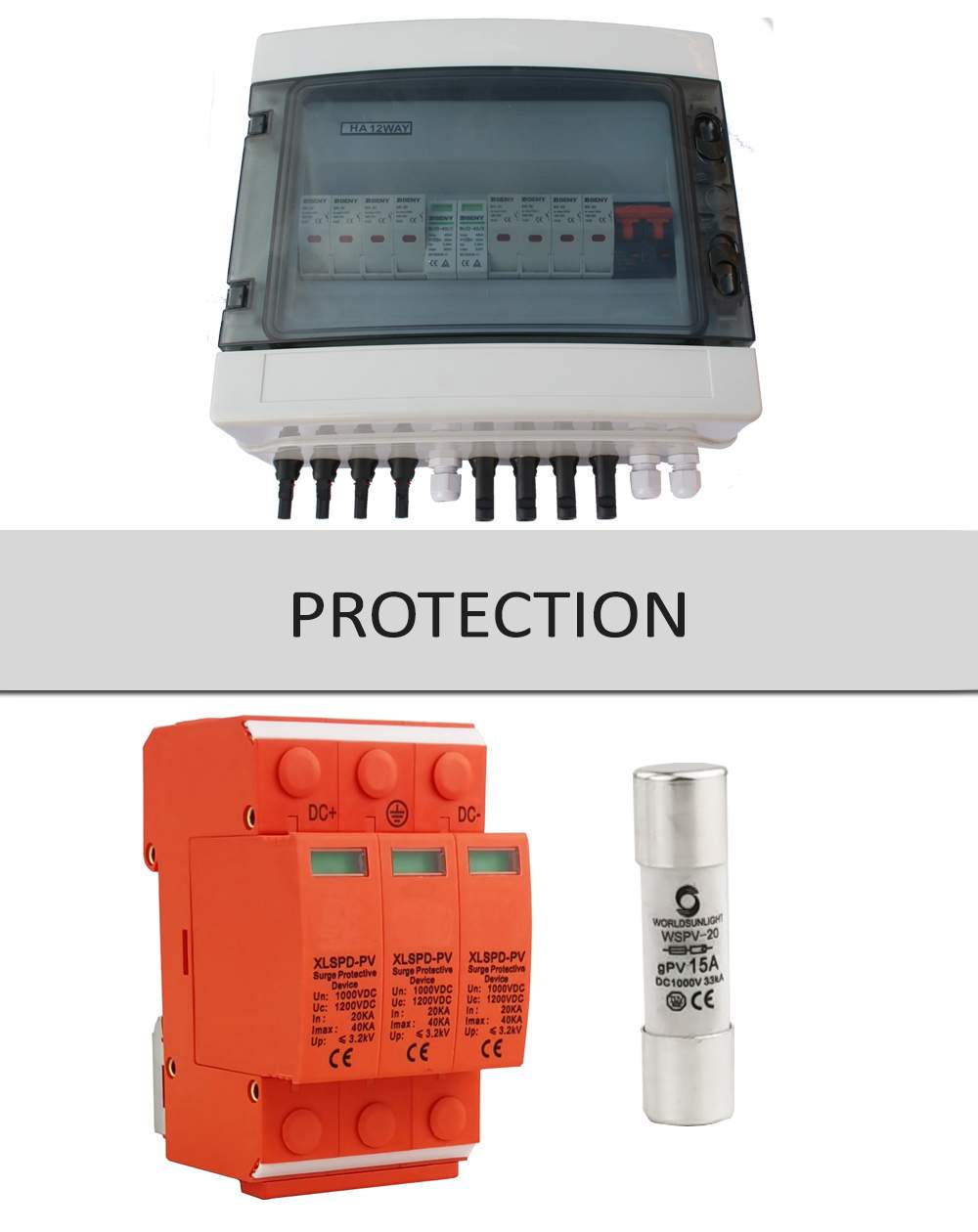 PV Combiner Boxes-PV Fuses and System Protection