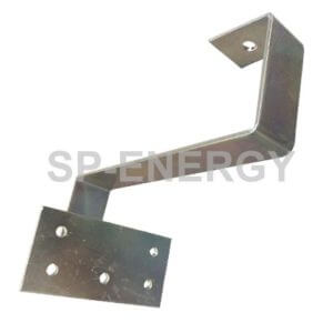 The Tile Roof mounting brackets are designed to clamp onto tiles for mounting solar panels.