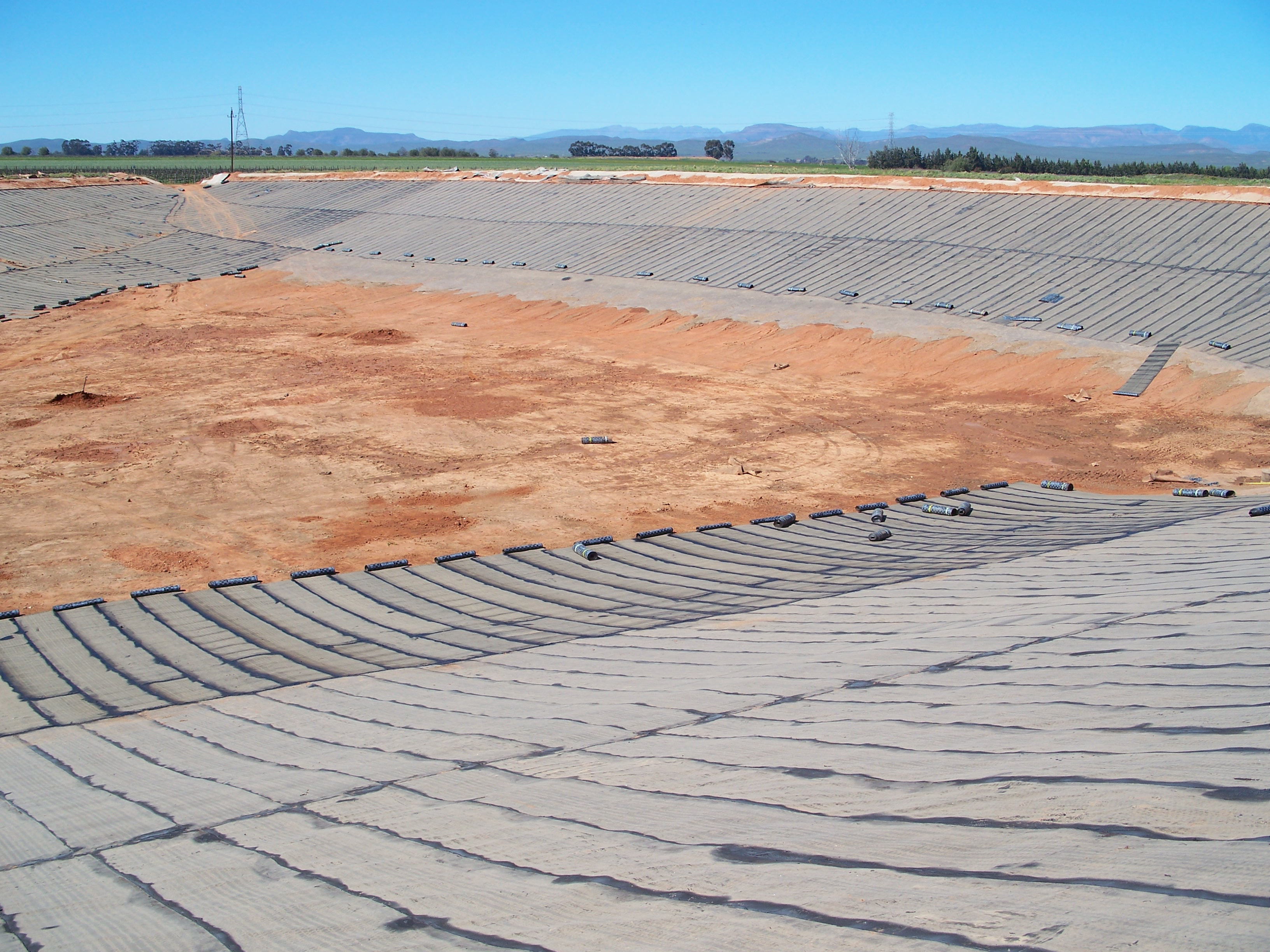 Services | Reservoirs | Soil Dam Liners | Asbestos Removal/Cleaning